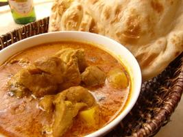 Chicken curry & Nan