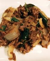 Mutton & chili salute